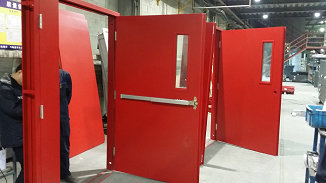 UL Certified Fire rated door for Factories &Commercial buildings