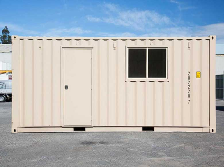 PA Door for Modified Container Houses